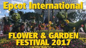 exploring the epcot international flower u0026 garden festival 2017