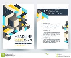 abstract vector modern flyers brochure design templates stock