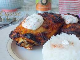 cuisine indienne poulet poulet tandoori le cuisine de samar