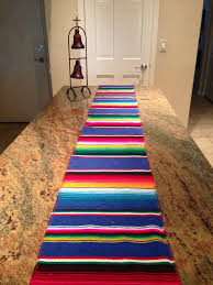 Serape Table Runner A Love Letter To Food Nacho Libre Party