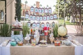 travel themed table decorations travel themed party vintage bar mitzvah