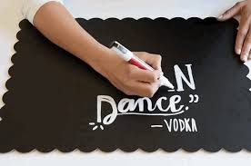 wedding chalkboard sayings here s a genius trick for a fancy chalkboard sign