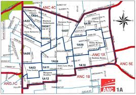 Washington Dc Ward Map by Anc1a Park View D C