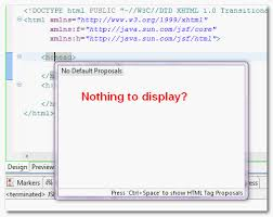 design html page in eclipse eclipse ide xhtml code assist is not working for jsf tag mkyong com