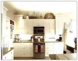 decor for top of kitchen cabinets kitchen cabinet top decorating kitchen cabinet kitchen cabinet