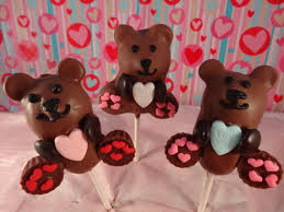 teddy valentines day s day teddy cake pops