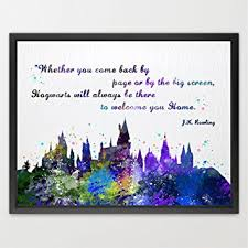 wedding quotes harry potter buy dignovel studios 11x14 hogwarts castle quote harry potter