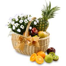 fruit and flower basket fruit flower basket free classic hers