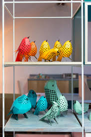bradley friesen apartment paper aviary installation by estudio guardabosques