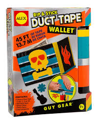 amazon com alex toys guy gear rip and stick duct tape wallet