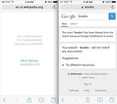 How To Block Be Like - how to block access to adult content websites on iphone ipad