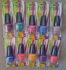 dollar tree haul l a colors nail polish uñas clous nails