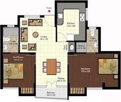 Belvedere Floor Plan 1090 Sq Ft 2 Bhk Floor Plan Image Sreerosh Belvedere Available