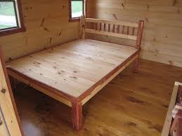 bed frame how to make log bed frames ozapcr how to make log bed