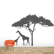 Safari Nursery Wall Decals Safari Wall Decal Zoo Wall Decal Decal Nature
