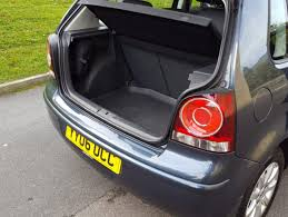 volkswagen polo trunk 2006 volkswagen polo 1 4 se 5dr hatchback airedale cars