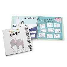 baby 1st year book baby s year memory book diy baby scrap book uncommongoods