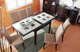 Frosted Glass Dining Table And Chairs Exclusive Kitchen Dining Tables And Suits In Many Contemporary
