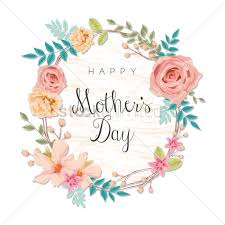 mothers day cards happy mothers day card vector image 1807838 stockunlimited