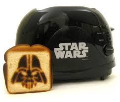 Toaster Face A Darth Vader Toaster Dark Side That Bread Geekologie