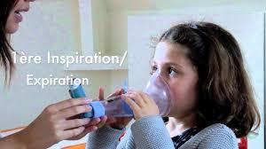 asthme comment utiliser une chambre d inhalation comme l able