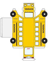 bus template from http www dltk kids com fun with me