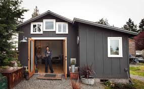 one house garage turned tiny house de la seattle tiny home