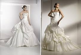 wedding dresses 2010 gown wedding dresses with tiered skirts floral