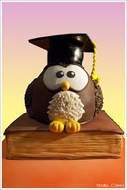 graduation owl graduation owl cake 1 jpg