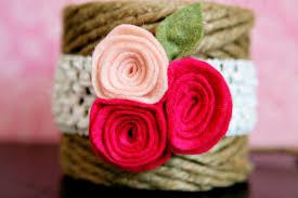 felt flower headband diy tutorial felt headband see craft