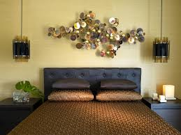 wall art over bed home design styles interior ideas superb
