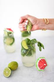 mojito recipe card low calorie mojito recipe gray malin
