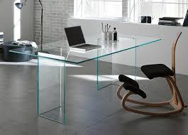 tonelli bacco glass desk desks home office furniture pertaining