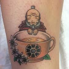 avatar the last airbender uncle iroh tattoo tattoos pinterest