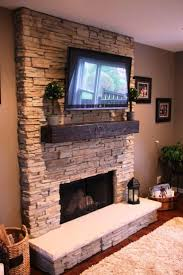best stacked stone fireplace ideas u2014 home fireplaces firepits