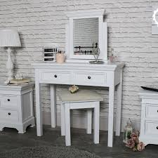 dressing table with mirror and drawers white dressing table mirror and stool set daventry white range