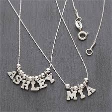 personalized necklace for personalized name silver necklace