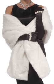 Faux by Amazon Com Forum Novelties Vintage Hollywood Faux Mink Stole