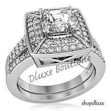 Womens Wedding Ring Sets by Womens Stainless Steel Wedding Ring Set Ebay