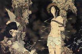death and fantasy paintings by takato yamamoto