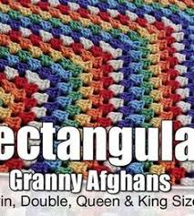 free pattern granny square afghan free pattern rectangle granny square blanket patterns for all