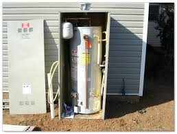 cabinet style water heater cabinet style water heater outdoor water softener cabinet ideas