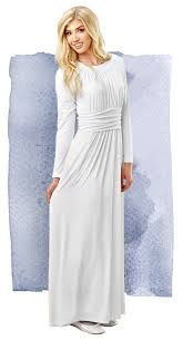 cambre temple dress 98 white elegance