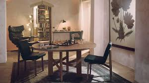 Bernhardt Dining Room Set Contemporary Dining Table Wooden Round Extending Accademia