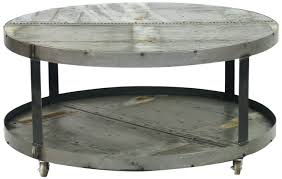 west elm round coffee table industrial round coffee table west elm diy with wheels erkkeri