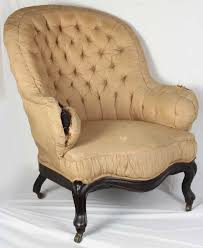 Victorian Upholstered Chair Upholstered Wing Chair