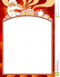 photo collection blank menu card stock