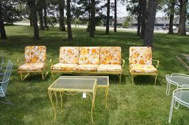 Patio Furniture Metal Mesh - trendy metal outdoor furniture vintage 133 vintage metal mesh