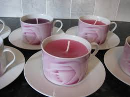 tea cup candles teacup candles make my day creative