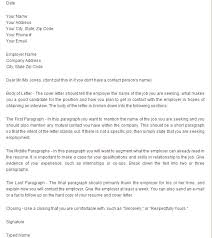 what is in a good cover letter nardellidesign com